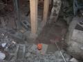 Brukte laser for å finne utgangspunktet for den nye muren
